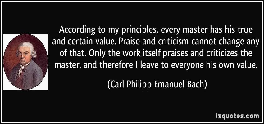 Carl Philipp Emanuel Bach's quote #1