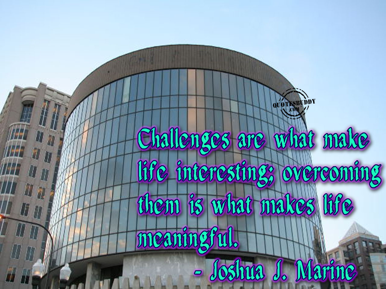 Challenge quote #1