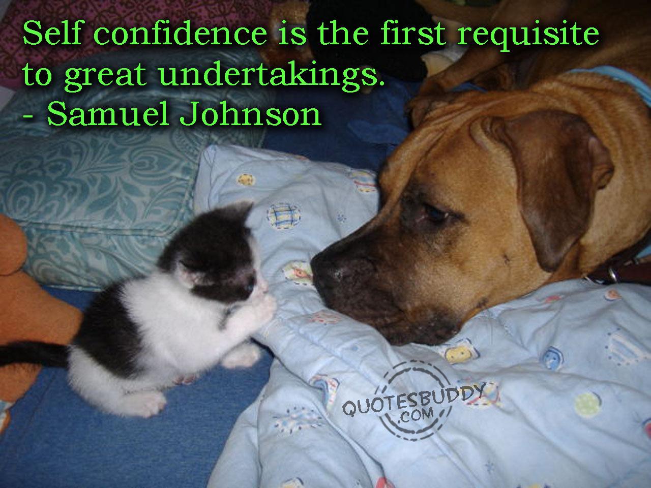 Confidence quote #1