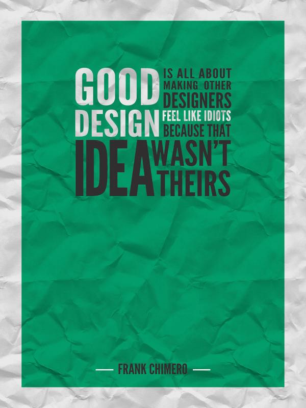Design quote #6