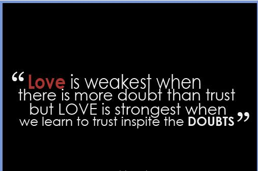 Doubt quote #1