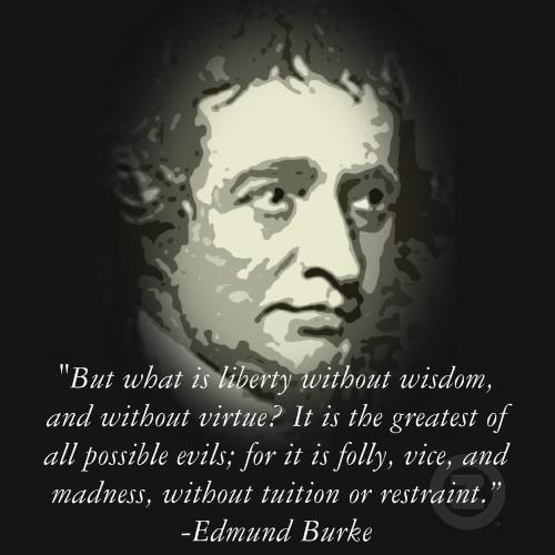 Edmund Burke's quote #1