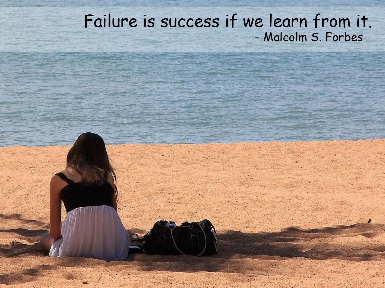 Failure quote #1