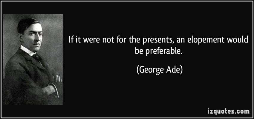 George Ade's quote #2