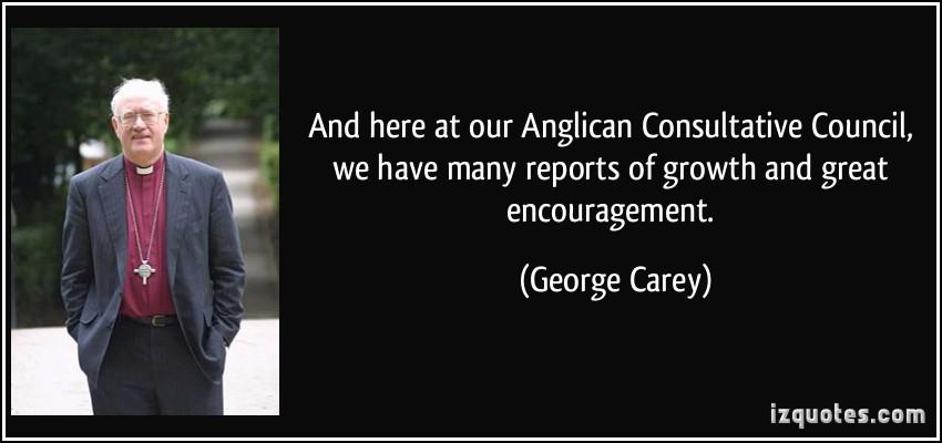George Carey's quote