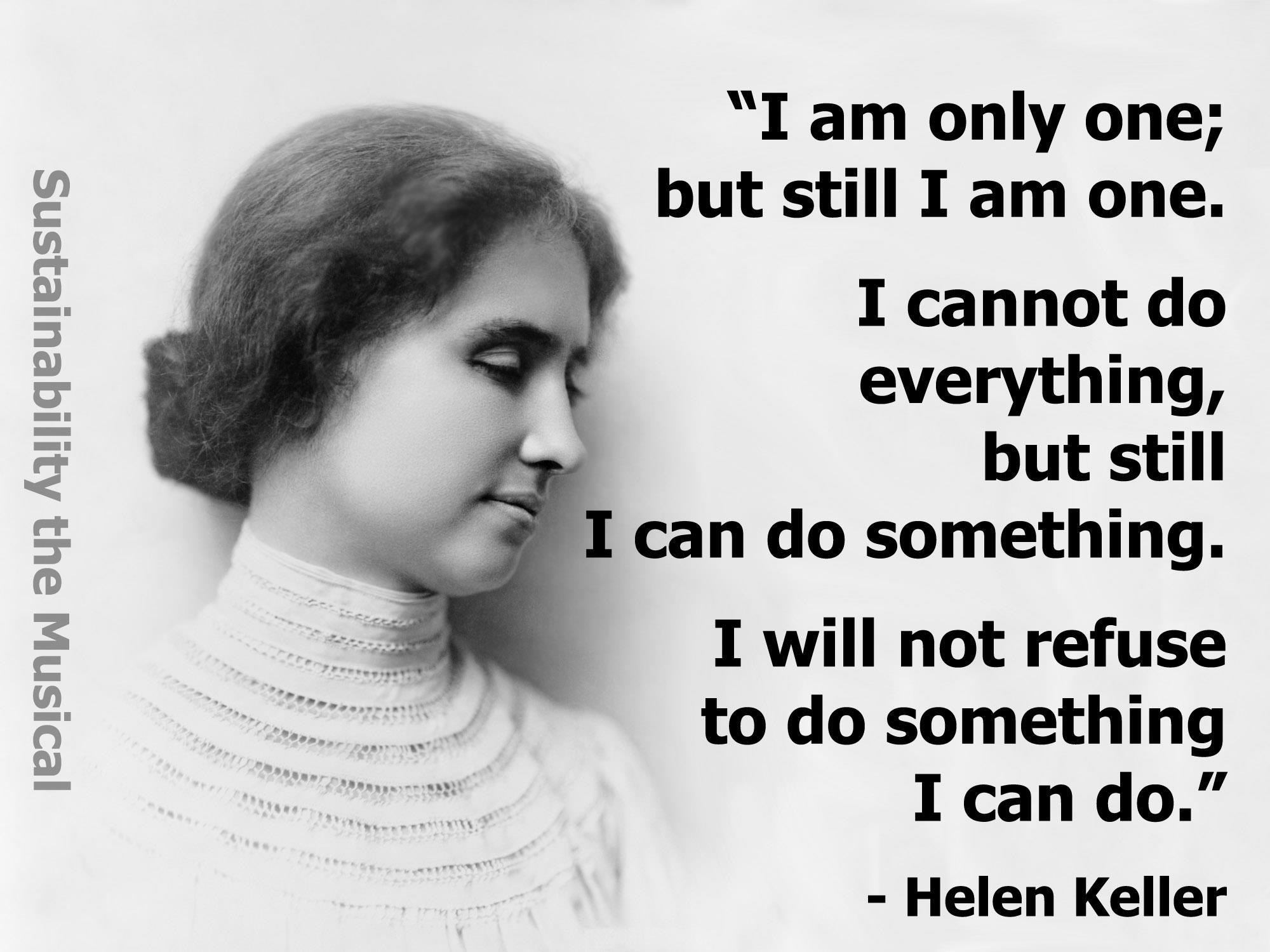 Helen Keller's quote #8