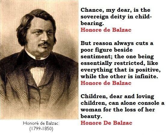 Honore de Balzac's quote #8
