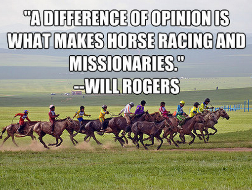 Famous Quotes About 'Horse Racing'