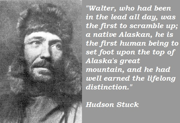 Hudson Stuck's quote