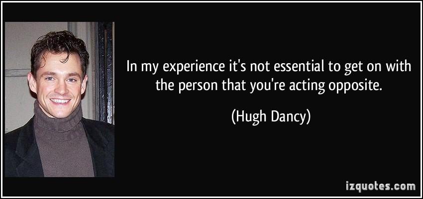 Hugh Dancy's quote #2