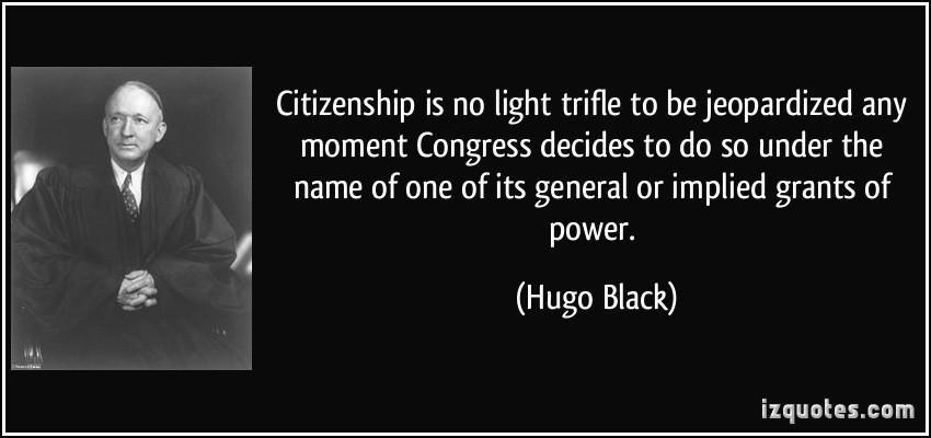 Hugo Black's quote