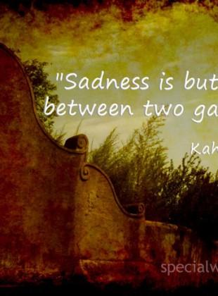 Khalil Gibran's quote #1