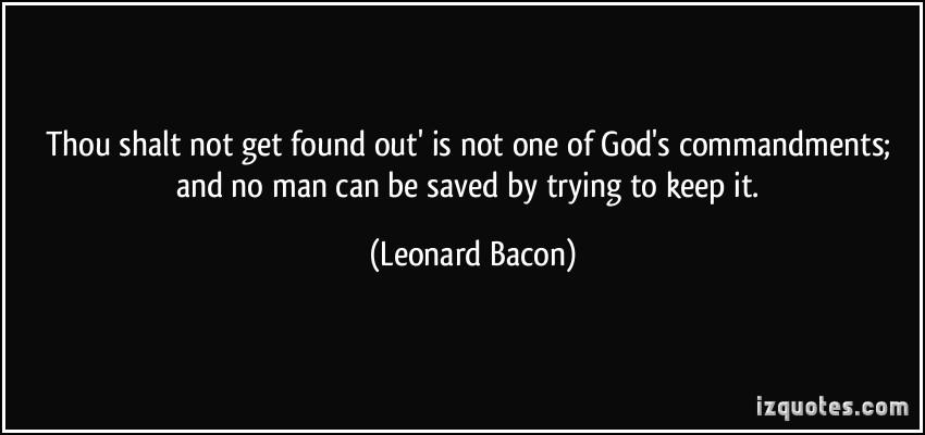 Leonard Bacon's quote #1