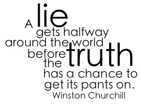 Lies quote #8