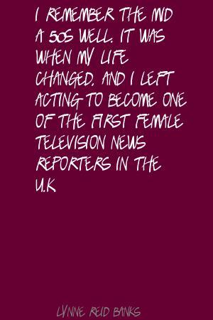Lynne Reid Banks's quote #4