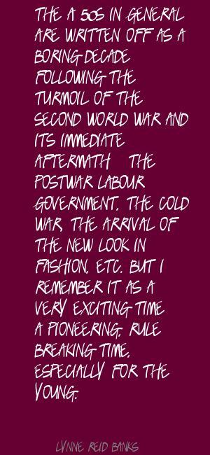 Lynne Reid Banks's quote #1