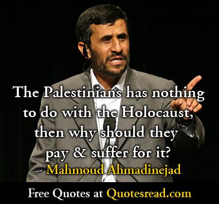 Mahmoud Ahmadinejad's quote #5