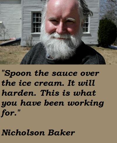 Nicholson Baker's quote #7