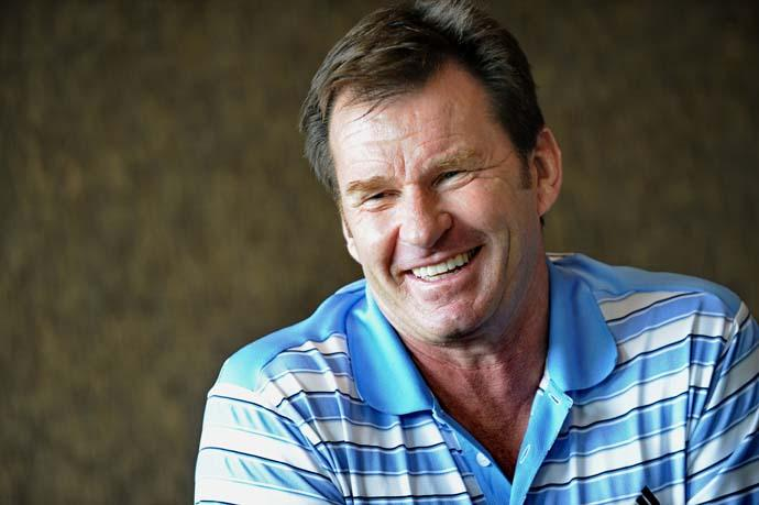 Nick Faldo's quote