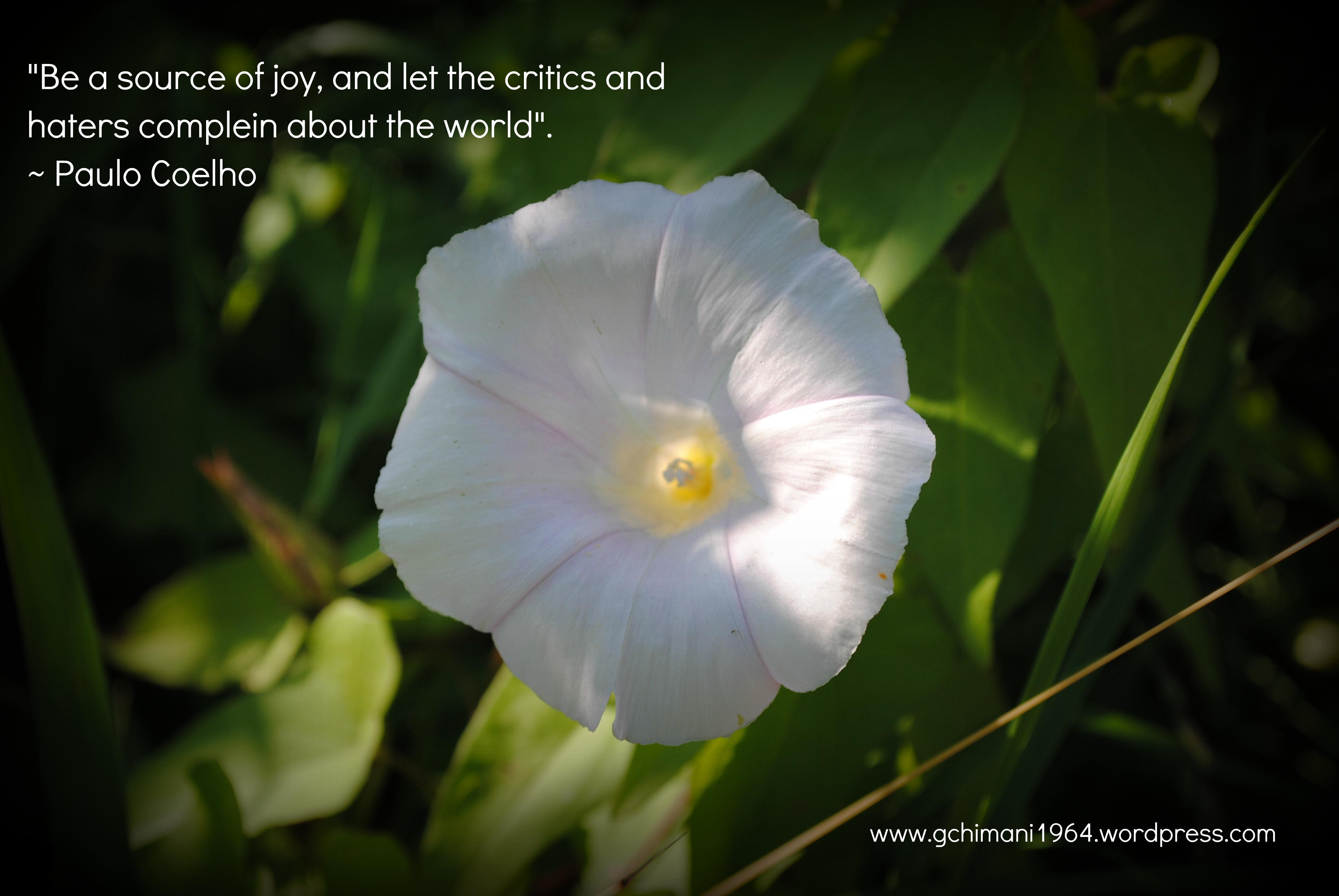 Paulo Coelho's quote #1