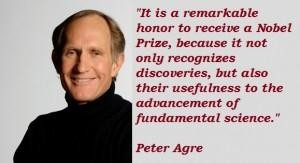 Peter Agre's quote #3