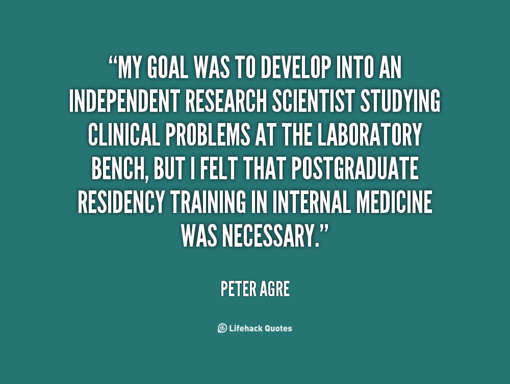 Peter Agre's quote #4