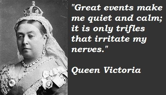 Queen Victoria's quote