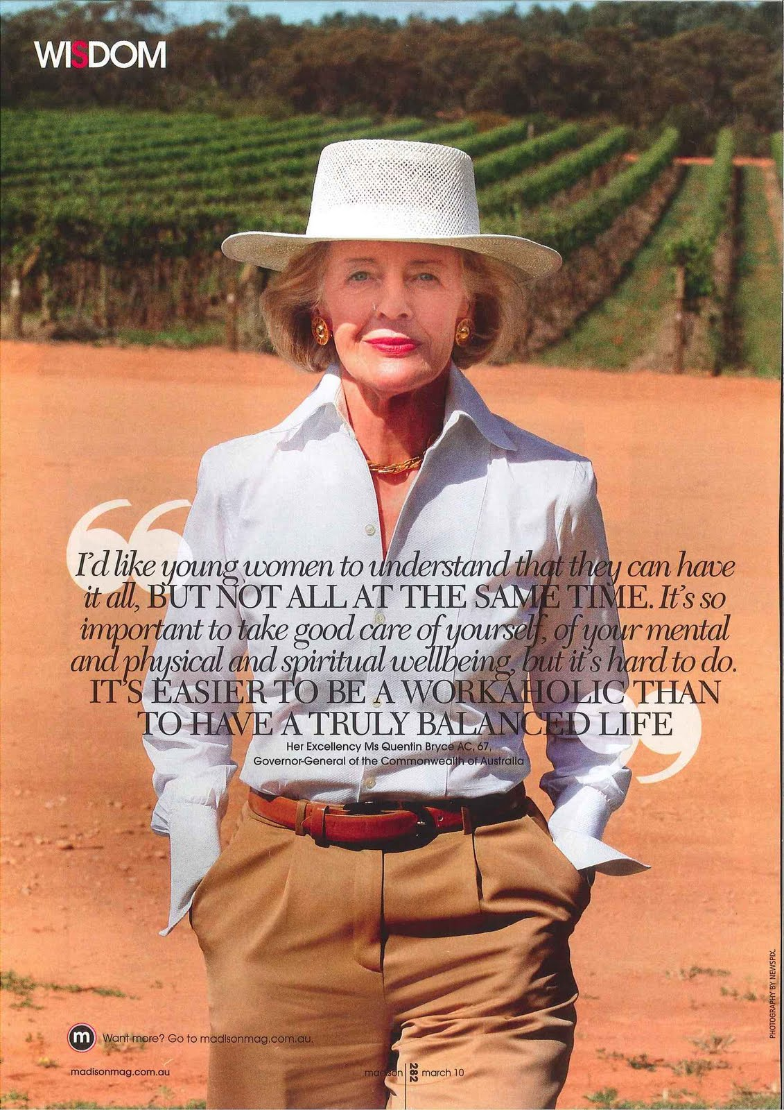 Quentin Bryce's quote