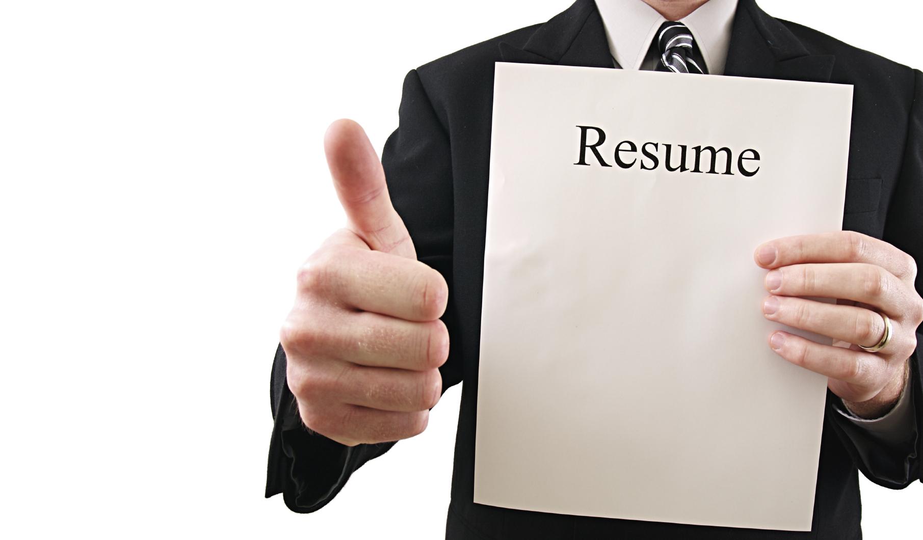 how do you prepare a resumes