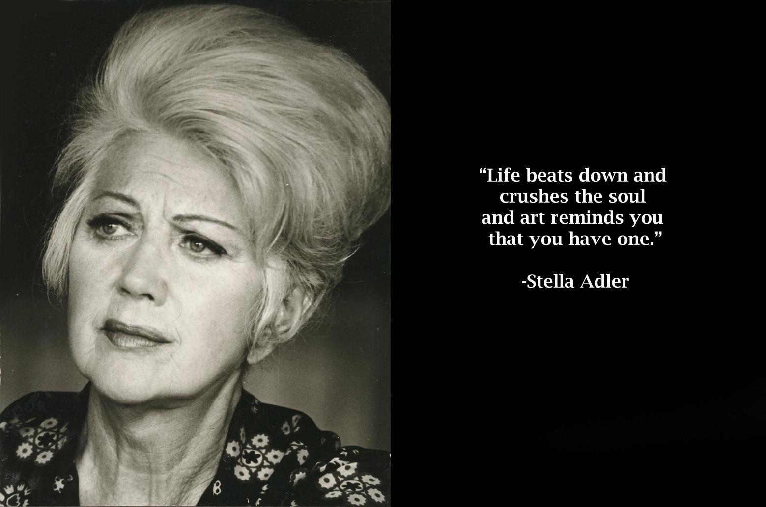 Stella Adler's quote #1