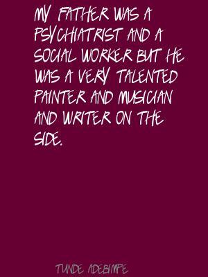 Tunde Adebimpe's quote #3