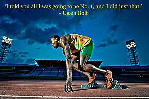Usain Bolt's quote #4