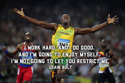 Usain Bolt's quote #1