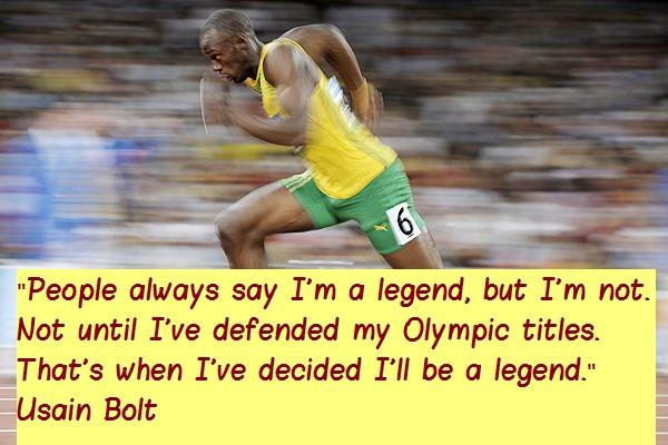 Usain Bolt's quote #2