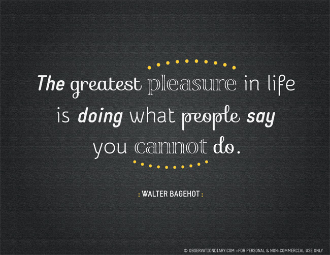 Walter Bagehot's quote #1