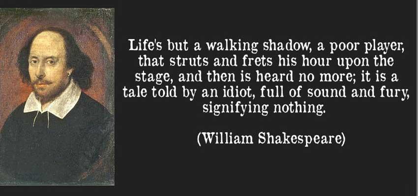 William Shakespeare's quote #8