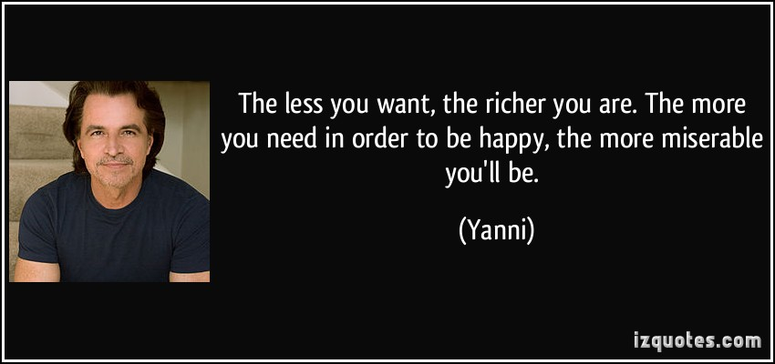 Yanni's quote #1